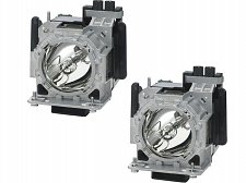 Buy PANASONIC ET-LAD320PW ETLAD320PW 2 FACTORY ORIGINAL BULBS IN HOUSINGS PT-DS100