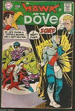 Buy HAWK & DOVE #1 BY STEVE DITKO DC COMICS 1968 --1st print & series Vintage OLD !