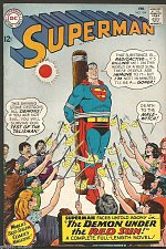 Buy Superman #184 DC COMICS 1966 --1st print Fine/+ range