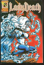 Buy Wizard Presents: Lady Death 1/2 First Print 1994 Chaos