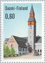 Buy Finland stamp 1 v MNH National Museum in Helsinki