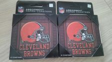 Buy Lot of (2) Cleveland Browns 8 Pack Coasters (405)