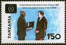 Buy Tanzania 1v mnh Stamp 1986 Michel 364 President M. J. Nyerer