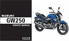 Buy 2013 2014 2015 Suzuki GW250 Inazuma Service Repair Manual CD -- GW 250
