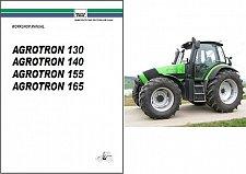 Buy Deutz Fahr Agrotron 130 140 155 165 Tractor Workshop Service Manual on a CD