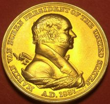 Buy Gem Unc Martin Van Buren Presidential Bronze Inauguration Medallion~Free Ship