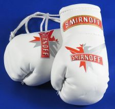 Buy Smirnoff Mini Boxing Gloves Ideal for rear view mirror or end of bar