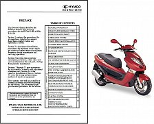 Buy Kymco Bet & Win 125 / 150 Scooter Service Manual on a CD