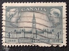 Buy Canada Used 1v Stamp 4c Used #Responsible Government