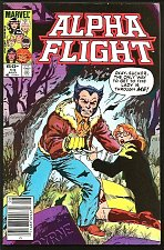 Buy X-men WOLVERINE in ALPHA FLIGHT #13 John Byrne 1984 Fine or better