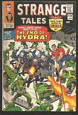 Buy Strange Tales #140 Dr. Strange: Ditko, Shield: Kirby/Heck1966 VG+ Stan Lee HYDRA