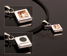 Buy HEALING PAIN REDUCE STRESS IMPROVE SLEEP MAGNETIC Swarovski Necklace EJNP-D018