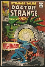 Buy STRANGE TALES #164 STERANKO SHIELD '68 DR STRANGE ADKINS G+/VG YELLOW CLAW