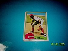 Buy 1981 Topps BASEBALL CARD OF DAN DRIESSEN #655 MINT FREE SHIPPING
