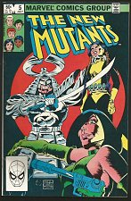 Buy The NEW MUTANTS #5 Claremont +S. Buscema 1st print & series MARVEL COMICS 1983