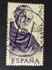 Buy Spain 1970 Mi1891 1v used Stamp Builders of the New World, Mexico