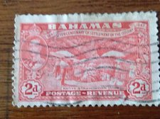 Buy Bahamas 1948 used stamp Mi140 1v Stamp Native Straw Work