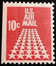 Buy 1968 10c 50-Star Runway, Booklet Single Scott C72b Mint F/VF NH