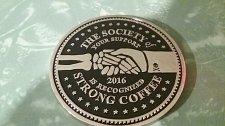 Buy used - rare - Death Wish Coffee Company 2016 Societal Member Coin Society