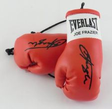 Buy Autographed Mini Boxing Gloves Smoking Joe Frazier