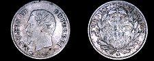 Buy 1859-A French 20 Centimes World Silver Coin - France