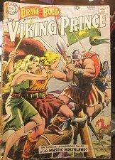 Buy Brave & Bold #23 VIKING PRINCE all Joe Kubert 1st print & series 1959 DC COMICS
