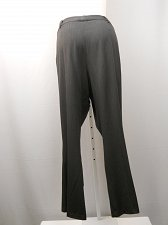 Buy PLUS 22W Women Dress Pants ENVISION AVE Pinstriped Career Straight Legs 44X32