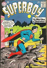 Buy SUPERBOY #116 DC COMICS 1964 first print and series WOLF-BOY of Smallville