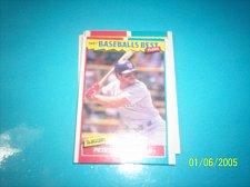 Buy 1987 Fleer Baseballs Best Sluggers Vs Pitchers PETE INCAVIGLIA #21 FREE SHIP