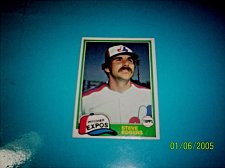 Buy 1981 Topps BASEBALL CARD OF STEVE ROGERS #725 MINT FREE SHIPPING