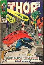 Buy THOR #143 Stan Lee & Jack Kirby Marvel Comics 1967 1st Print & series