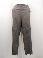 Buy Dress Pants Petite Size 3X JMS Women's Gray Pinstriped Straight Leg Back Elastic