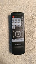 Buy CRAIG REMOTE CONTROL - Digital to Analog Broadcast Converter console Box CVD508