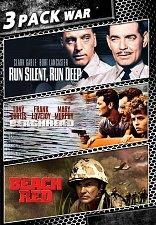 Buy 3movie war DVD Run Silent Run Deep,Beachhead,Beach Red Clark GABLE Tony CURTIS