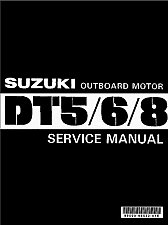 Buy 1977-2000 Suzuki 5 6 8 2-Stroke ( DT5 DT6 DT8 ) Outboards Service Manual on a CD