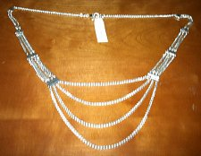 Buy LUCKY BRAND Wheat Chain Layered Silver-Tone Necklace