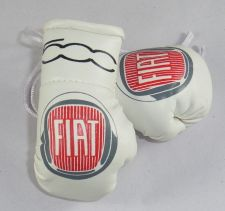 Buy Fiat 500 Mini boxing gloves ideal for rear view mirror