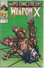 Buy LOGAN, Wolverine Marvel Comics Presents #75 High Grade Weapon X, Barry W Smith