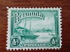 Buy BERMUDA BOAT 1/2D Used Stamp