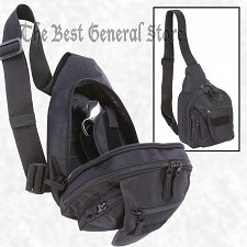 Buy Black Sling Pack with Concealed Handgun Weapon Holster Small Backpack Gun Bag