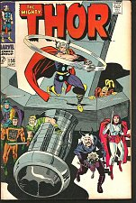 Buy THOR #156 JACK KIRBY STAN LEE Marvel Comics 1968
