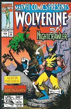 Buy WOLVERINE: Marvel Comics Presents #108 1st print 1992 NIGHT CRAWLER, Ghost Rider