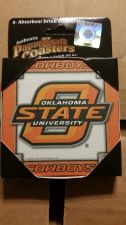 Buy (2) Oklahoma State Cowboys 8 Pack Coasters (405)