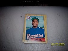 Buy 1987 Topps Traded Baseball ROOKIE CARD OF JERRY BROWNE RANGERS #T11 FREE SHIP