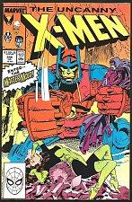 Buy Uncanny X-MEN #245 Marvel Comics 1989 VF MasterMold
