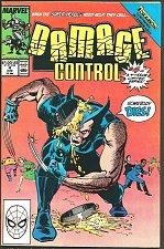 Buy DAMAGE CONTROL #4 WOLVERINE 1989 ERNIE COLON Marvel Comics