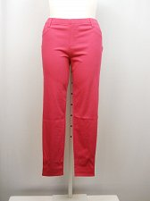 Buy Women Jeggings SIZE XL Solid Pink Skinny Legs Back Pockets Full Length Inseam 29