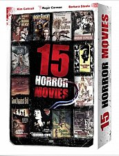 Buy 15movie DVD NIGHTFRIGHT She BEAST Horror Express BEE GIRLS Snake People TERROR