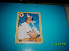 Buy 1987 Topps Traded Baseball CARD OF TERRY KENNEDY ORIOLES #T57 MINT