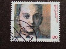Buy German postage 1V uSED stamp 1992 : Jochen Klep German writer, poet and journali
